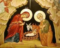 Образ Рождества Христова. Поклонение младенцу