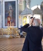 Уильям Брумфилд в Спасо-Яковлевском монастыре. 2019 г.