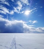 Небо над озером Неро. 2021 г.