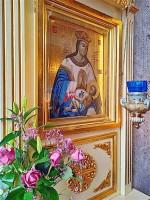 Образ Божией Матери «Умиление-Ростовская», хранящийся в Спасо-Яковлевском монастыре