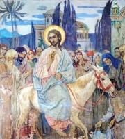 В. Нестеров. Вход Господень в Иерусалим.