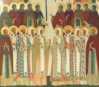Собор Ростово-Ярославских святых (фрагмент иконы)
