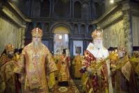 Божественная литургия в Успенском соборе в день празднования Собора Ростово-Ярославских святых 5 июня 2021 года