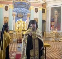 Молебен в Димитриевском соборе перед началом научных чтений. 2017 г., декабрь