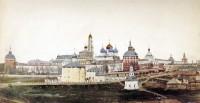 Вид Свято-Троицкой Сергиевой лавры. 1863-1870 гг.