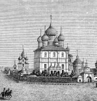 Ростовский архиерейский дом. Гравюра XIX в. (фрагмент)