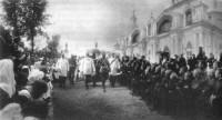 Император Николай II в Спасо-Яковлевском монастыре 22 мая 1913 года.