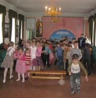 Детский Пасхальный праздник в Спасо-Яковлевском монастыре апрель 2012г.