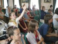 Летний детский праздник в Спасо-Яковлевском монастыре. Фото 9 июля 2011 г.