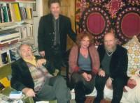 Архимандрит Сильвестр в гостях у Тонино Гуэрры, итальянского поэта, писателя и сценариста