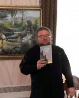 Игумен Августин на презентации новой книги Спасо-Яковлевского монастыря, 2012 г.