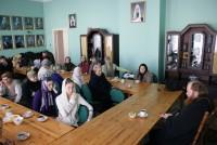 чаепитие в Спасо-Яковлевском монастыре 2010 год. Встреча с о. Саввой