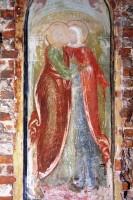 Фресковый образ Зачатия св. Анны в иконостасе Зачатиевского храма