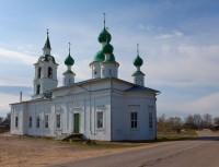 Храм св. Андрея Стратилата в селе Сулость