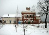 Богоявленская церковь с теплыми приделами во имя святых Максима Исповедника и Иоанна Богослова в селе Красново