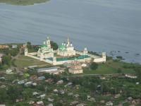 Cпасо-Яковлевский монастырь 2010 г - вид сверху