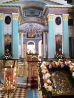 Пасхальное убранство Димитриевского собора