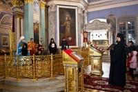 Митрополит Пантелеимон в Спасо-Яковлевском монастыре на Светлой Пасхальной седмице 22 апреля 2014 года