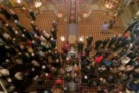 Димитриевский храм. Вид с хоров.