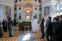 Проповедь  игумена Августина по окончании службы Великой субботы.