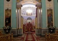 Евхаристический канон: «Тебе поем, Тебе благословим, Тебе благодарим, Господи, и молимтися, Боже наш».
