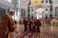 Архиерейское богослужение в Спасо-Яковлевском монастыре 20 апреля 2017 года