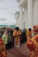 Крестный ход в Спасо-Яковлевском монастыре 20 апреля 2017 года