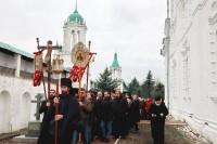 Крестный ход в день памяти святителя Иакова Ростовского 10 декабря 2019 года