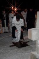 Крещенское освящение воды в Спасо-Яковлевском монастыре
