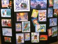 Выставка Рождественских рисунков.