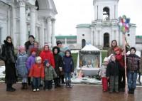 Рождественские колядки Воскресной школы