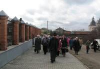 Рядом с храмом св. Николая Чудотворца