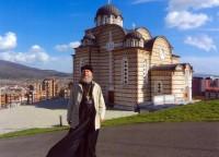 Архимандрит Сильвестр в Сербии