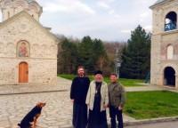В монастыре под Белградом