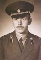 В армии 1976 г.