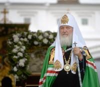 Святейший Патриарх Московский и Всея Руси Кирилл в Свято-Введенском Толгском монастыре 21 августа 1914 года
