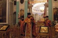 Пасхальное богослужение в Спасо-Яковлевском монастыре 15 апреля 2012 г.