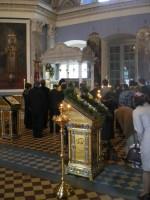 Молебен Святителю Димитрию Ростовскому, предваряющий конференцию