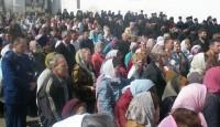 Молебен на Соборной площади, празднование образования Ярославской митрополии, Ростов-Великий апрель 2012 г