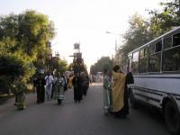 Крестный ход с мощами прп. Авраамия Ростовского. 28 июля 2012 г.