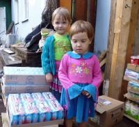 Благотворительная акция  Спасо-Яковлевского монастыря «Продукты в каждый дом». 2015 г., август.
