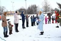 Детский праздник на Ростовском стадионе