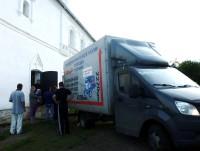 Организация помощи Социальным отделом монастыря многодетным и нуждающимся семьям. Лето 2015 года.