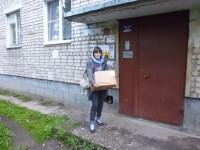 Помощь Социальным отделом монастыря многодетным и нуждающимся семьям. 2015 год.