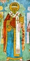 Святитель Иаков Ростовский. Роспись Троицкого собора Ипатиевского монастыря, г. Кострома. 1685 г., артель Гурия Никитина