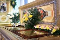 Рака святителя Димитрия Ростовского в Димитриевском соборе Спасо-Яковлевского монастыря. Фото 2013 г.