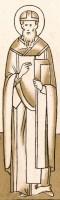 Святитель Иаков Ростовский. Прорись. Строгановский иконописный лицевой подлинник. Конец XVI - начало XVII в. Издан в Москве в 1869 г.