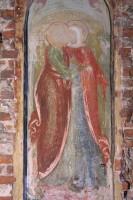 Св. Иоаким и Анна. Фреска XVII в. из местного ряда иконостаса Зачатиевского собора Спасо-Яковлевского монастыря 2011 г.