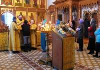 Божественная литургия в день памяти Святителя Иакова Ростовского 10 декабря 2013 г.