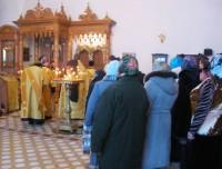 Молебен у мощей Святителя Иакова Ростовского 10 декабря 2013 г.